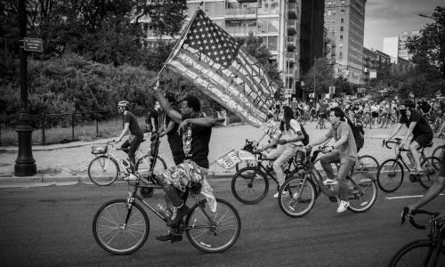 'This is a family': the Black-led groups biking against racism