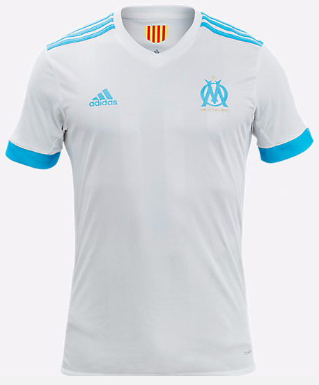 Maillot marseille OM 2017-2018 domicile home adidas