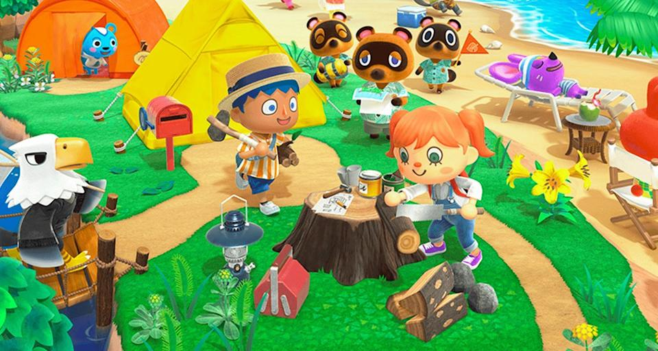 "Save 34 percent on ""Animal Crossing: New Horizons,"" thanks to Amazon's hidden sale. (Photo: Nintendo)"