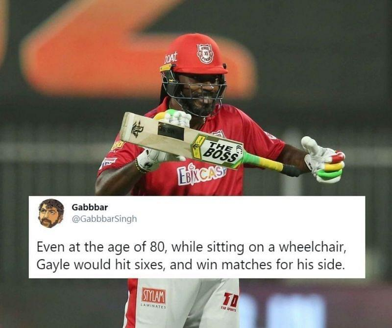 Chris Gayle and Mandeep Singh scored fifties to help KXIP to their 5th win on the trot