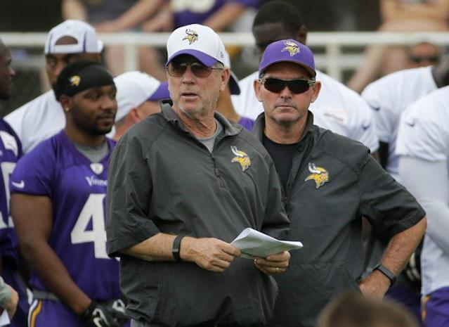 After suffering two straight defeats, the Vikings lost offensive coordinator Norv Turner this week. (AP)