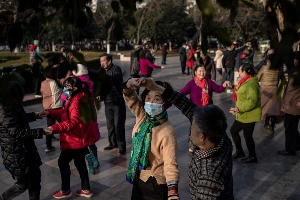 All about the new Chinese gang: Dancing grannies