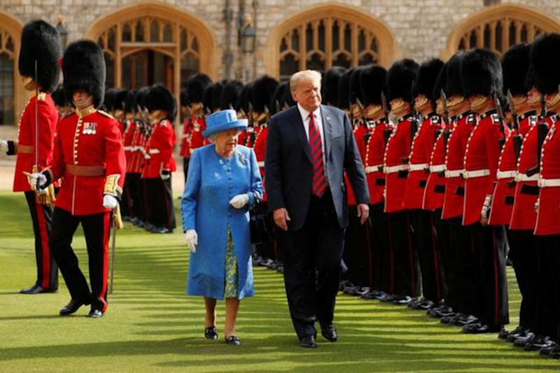 Donald Trump to Make State Visit to UK in June on Queen Elizabeth's Invitation