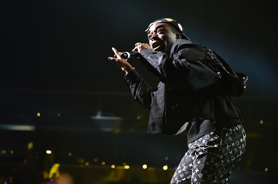 NEW YORK, NEW YORK - OCTOBER 21: Lil Uzi Vert performs during the TIDAL's 5th Annual TIDAL X Benefit Concert TIDAL X Rock The Vote At Barclays Center - Show at Barclays Center of Brooklyn on October 21, 2019 in New York City. (Photo by Theo Wargo/Getty Images for TIDAL )