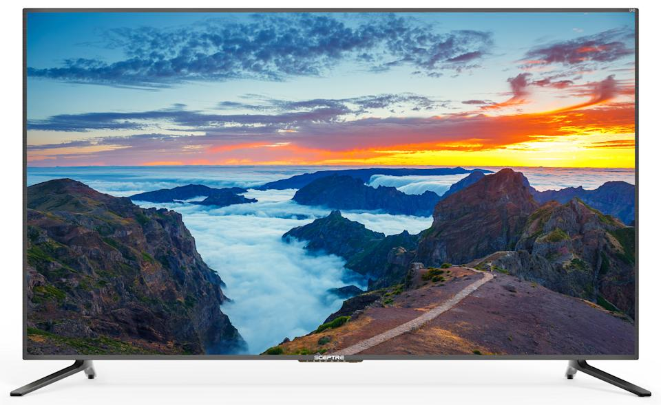 This 4K TV has a 4.2 out of five-star review rating. (Photo: Walmart)