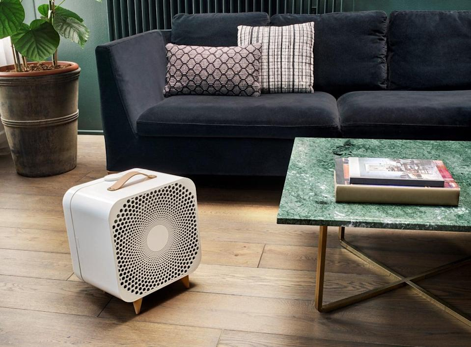<p>Hot days at home are no match for this powerhouse <span>Blueair Blue Pure Purifying Fan </span> ($300). Better than just a normal fan, it blows both clean and cool air. The device has three setting and removes over 99 percent of airborne dust and pollen particles.</p>