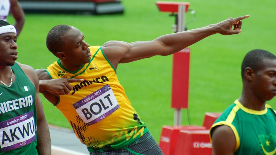 """<p>Truly living up to his nickname, the """"Lightning Bolt"""" captivated fans with his incredible speed. Olympic sprinter Usain Bolt hails from Jamaica and stands as the greatest sprinter of all time. Despite having retired in 2017, he remains the fastest man in the world five years on, according to CNBC.</p> <p>Earning eight Olympic gold medals over the course of three separate Olympic Games, Bolt achieved the """"Olympic triple-double"""" for his accomplishments. Over the course of his reign, Bolt acquired over $30 million in endorsements from such companies as Puma, Gatorade, and Virgin Media.</p>"""