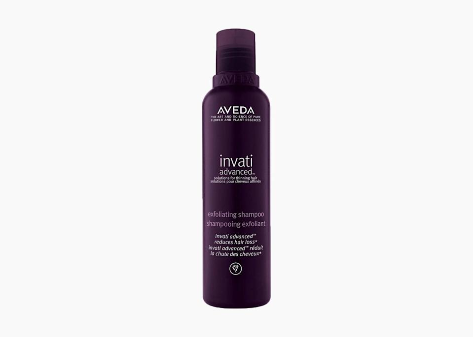 "$35, Nordstrom. <a href=""https://www.nordstrom.com/s/aveda-invati-advanced-exfoliating-shampoo/4873019"" rel=""nofollow noopener"" target=""_blank"" data-ylk=""slk:Get it now!"" class=""link rapid-noclick-resp"">Get it now!</a>"
