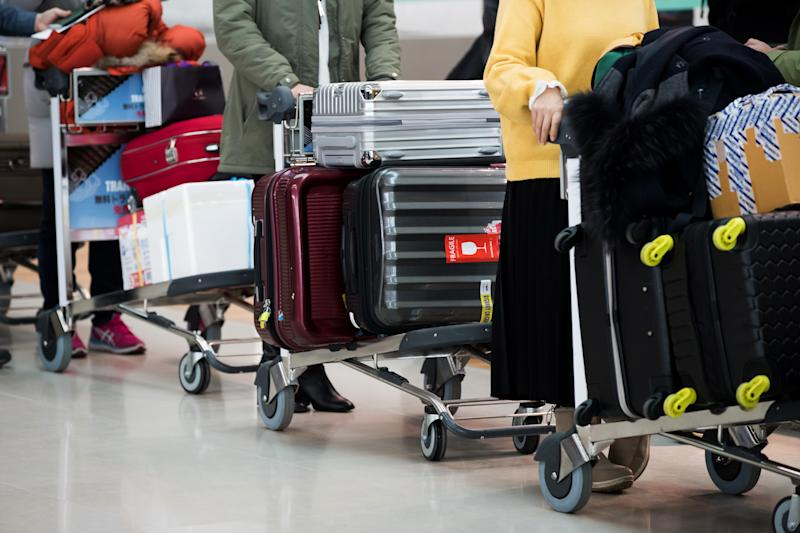 323bfcaf6d57 The so-called smart luggage industry hit a roadblock on January 15. Fliers  can no longer check bags with lithium-ion batteries.