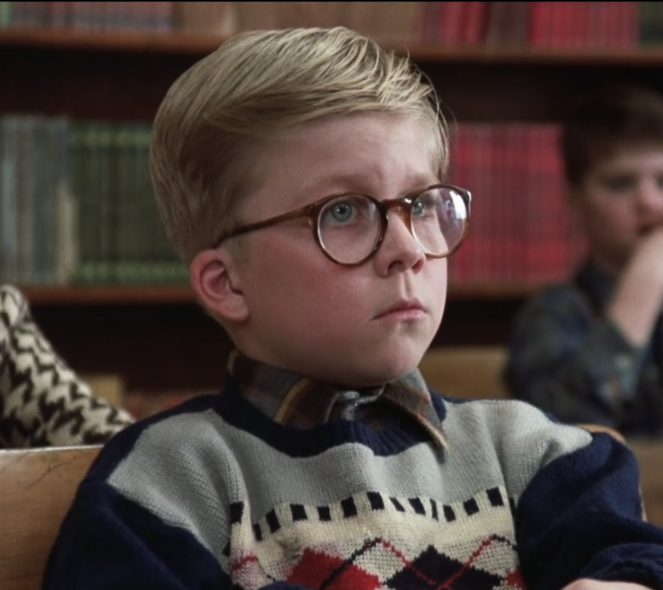 """<p>Before he was Ralphie Parker, <strong>Peter Billingsley</strong> starred in a handful of shows and TV movies, including <em><a href=""""https://www.amazon.com/Paternity-Burt-Reynolds/dp/B07PSN2QJ3?tag=syn-yahoo-20&ascsubtag=%5Bartid%7C2164.g.35017104%5Bsrc%7Cyahoo-us"""" rel=""""nofollow noopener"""" target=""""_blank"""" data-ylk=""""slk:Paternity"""" class=""""link rapid-noclick-resp"""">Paternity</a></em> which featured actor <strong>Burt Reynolds</strong>. When the native New Yorker began his career at age 7, he appeared in a commercial for Hershey's Syrup as """"<a href=""""https://www.youtube.com/watch?v=7-b_dRLrEvI&ab_channel=Thessair"""" rel=""""nofollow noopener"""" target=""""_blank"""" data-ylk=""""slk:Messy Marvin"""" class=""""link rapid-noclick-resp"""">Messy Marvin</a>"""" — a young boy known for creating messes except when he wanted a glass of chocolate milk. </p>"""