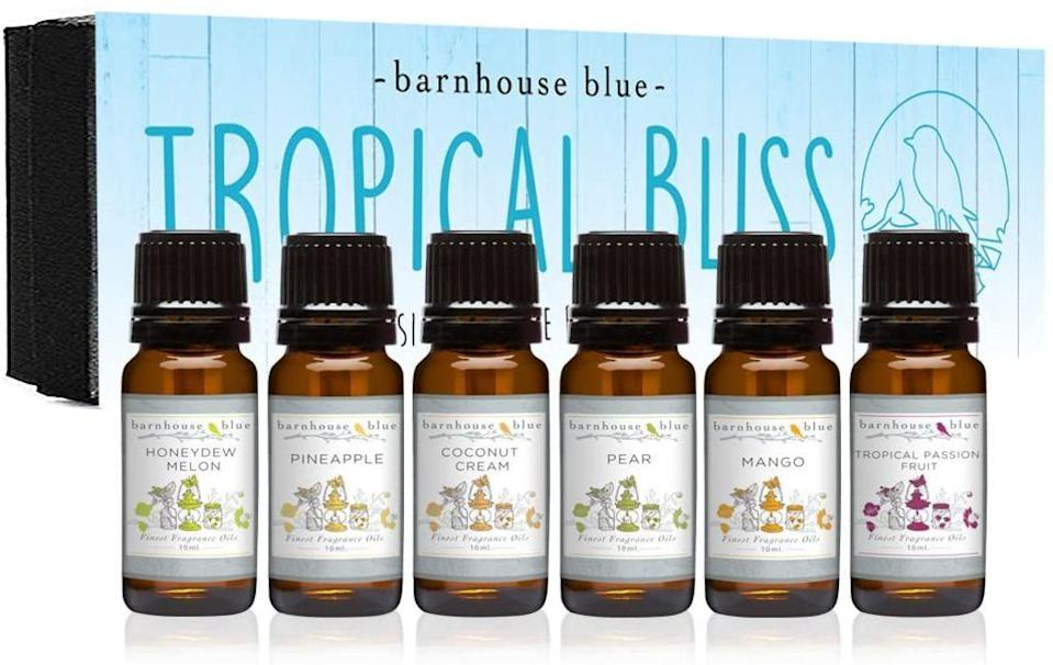barnhouse blue, best fragrance oils for candles