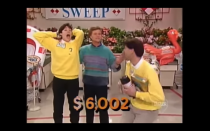"""<p>The team with the highest grand total was rewarded with that same amount in cash. The highest grand total on the show was <a href=""""https://gameshows.fandom.com/wiki/Supermarket_Sweep#:~:text=The%20record%20for%20the%20highest,%245%2C000%20in%20the%20Bonus%20Sweep."""" rel=""""nofollow noopener"""" target=""""_blank"""" data-ylk=""""slk:set in 2002"""" class=""""link rapid-noclick-resp"""">set in 2002</a>, with the winning team earning $2,254 in their grocery store run.</p>"""