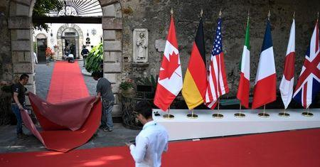 G7 Leaders Gather for Talks on Trade, Climate and Security