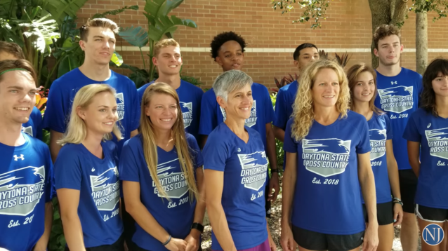 Daytona State's nontraditional cross-country team. (Via Youtube screencap)