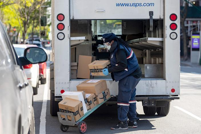 """Large companies like Amazon depend on the US Postal Service for last-mile deliveries in less profitable areas, and the Postal Service takes the financial hit for doing so. <p class=""""copyright""""><a href="""