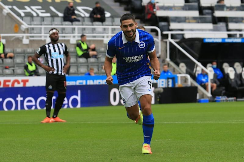 Premier League: Neal Maupay Strikes Twice As Brighton and Hove Albion Beat Newcastle United 3-0
