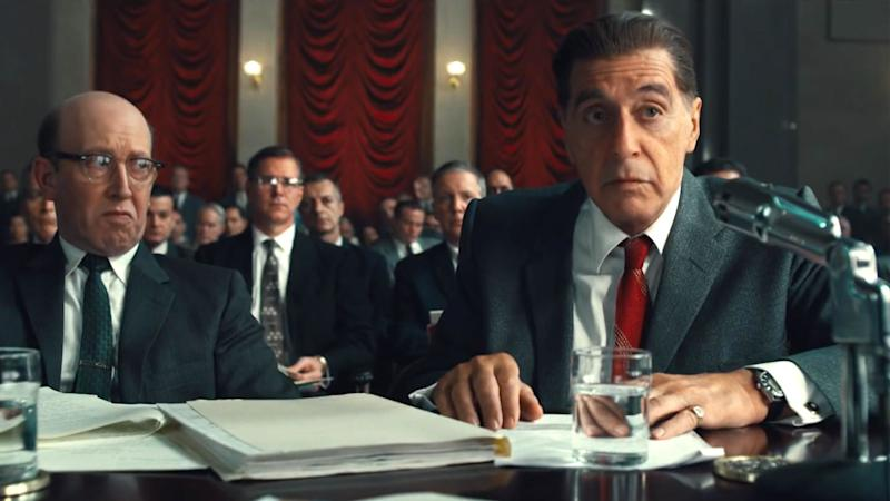 Martin Scorsese, Al Pacino discuss how they crafted the time-shifting magic of The Irishman