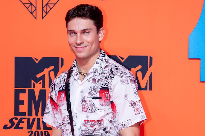 Joey Essex during the MTV European Music Awards 2019 (MTV EMA�s) at the FIBES Conference and Exhibition Centre in Seville, Andalusia, Spain. (Photo by DPPA/Sipa USA)
