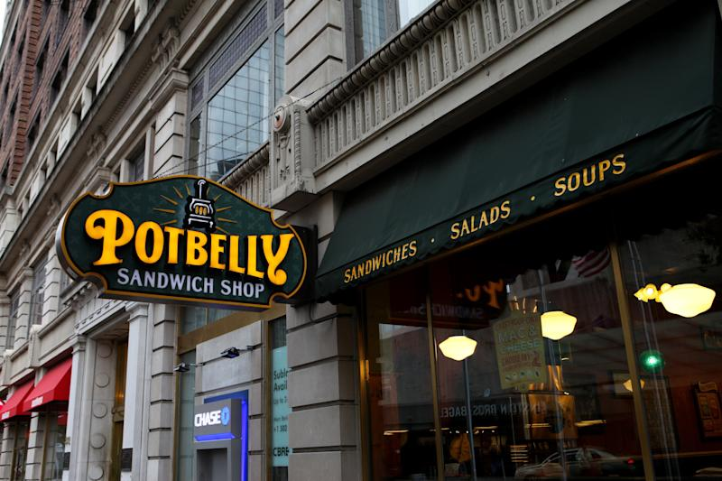 LOUISVILLE - OCTOBER 03: Potbelly Sandwich Shop on October 3, 2015 in Louisville, Kentucky. (Photo By Raymond Boyd/Getty Images)