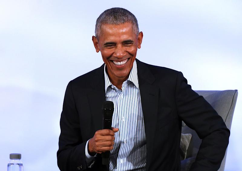 Barack Obama has spoken out on coronavirus, suggesting that large gatherings and major events should be cancelled. (Picture: PA)