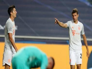 Champions League: 'Better than beating Brazil' Thomas Mueller steals show from Robert Lewandowski and Lionel Messi
