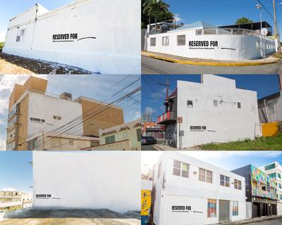 Local Puerto Rican artists identify and reserve wall spaces throughout the Island inviting muralists worldwide to join the