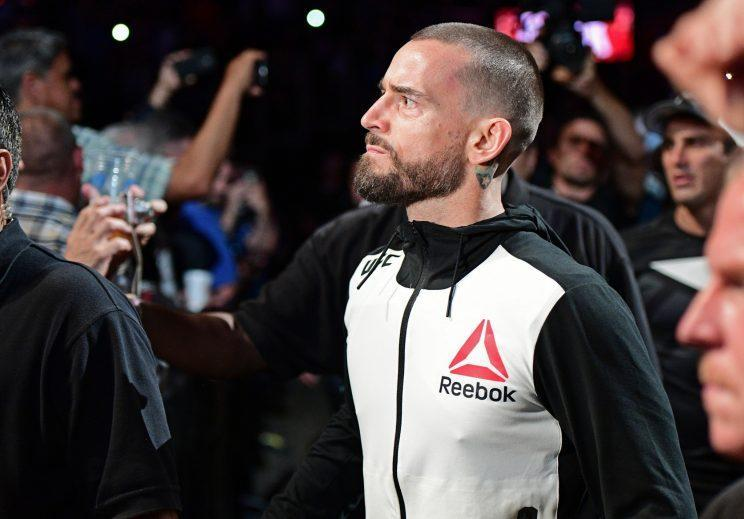 CM Punk's MMA debut at UFC 203 did not go well. (AP)