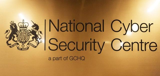 A National Cyber Security Centre sign