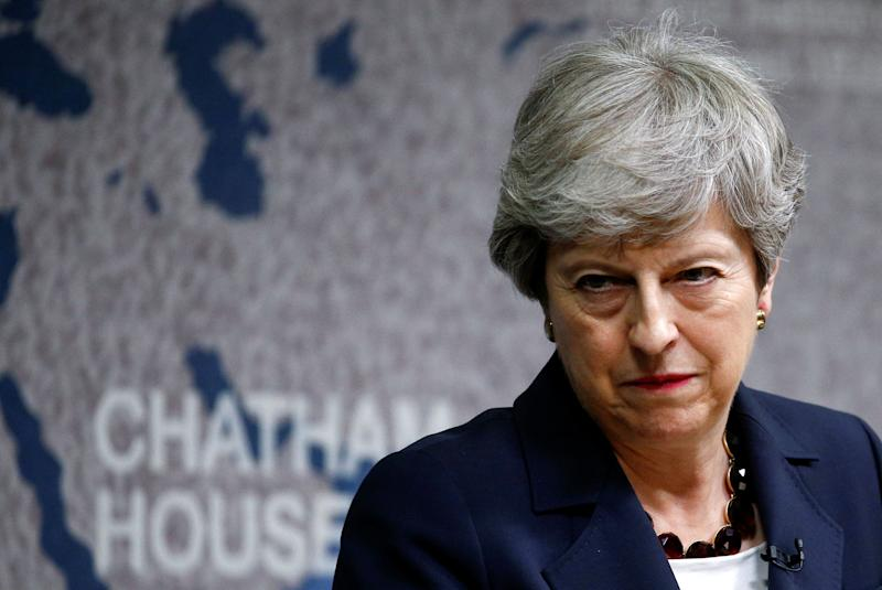 Theresa May will have one final PMQs before resigning. (Photo: PA Wire/PA Images)