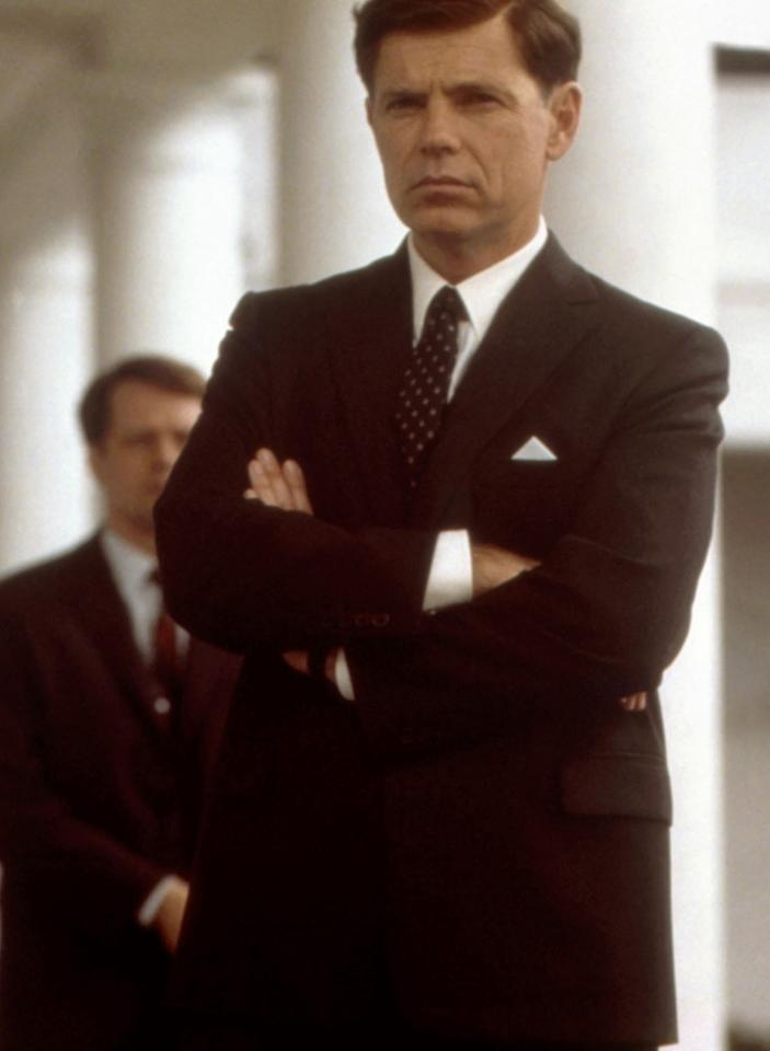 "Bruce Greenwood as John F. Kennedy in 2000's ""Thirteen Days"""