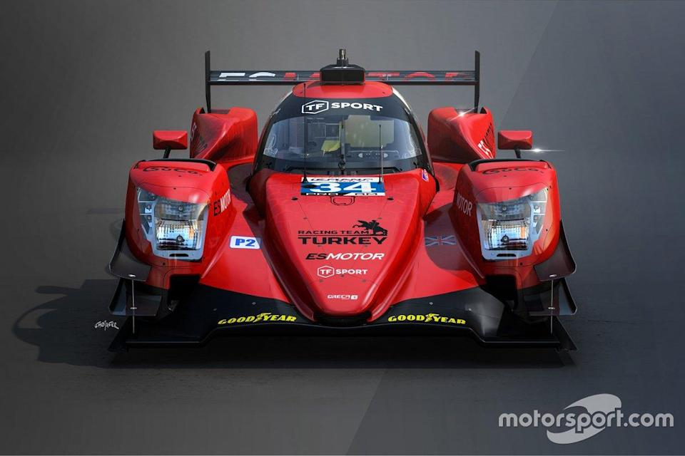 "#34 Racing Team Turkey Oreca 07, Salih Yoluç, Charlie Eastwood, Harry Tincknell<span class=""copyright"">TF Sport</span>"