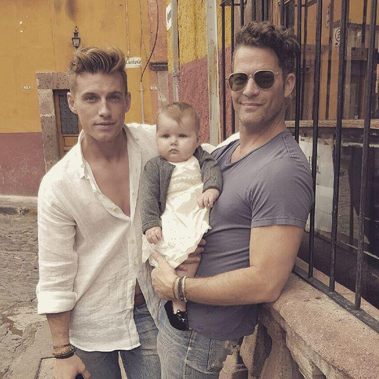 exclusive nate berkus and jeremiah brent reveal one of the best parts of surrogacy tequila. Black Bedroom Furniture Sets. Home Design Ideas
