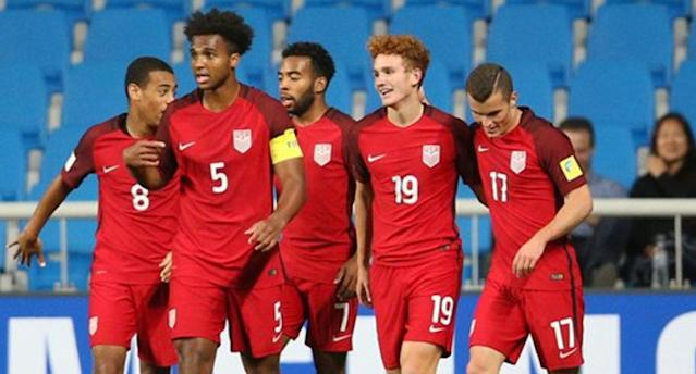 Sargent and the U.S. sit atop Group F. (U.S. Soccer)