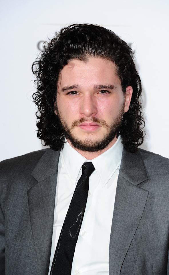 <p>Jon Snow's tight curls are most definitely iconic. [Photo: PA] </p>