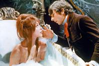<p>After wrapping <em>Eye of the Devil, </em>Tate signed on to to play the inn keeper's daughter in the 1966 film <em>The</em> <em>Fearless Vampire Killers </em>on one condition: she could wear a red wig. </p>