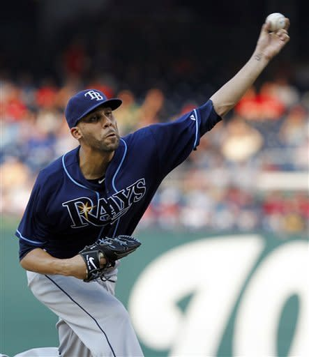 Pena's 2-run HR lifts Rays to 5-4 win against Nats