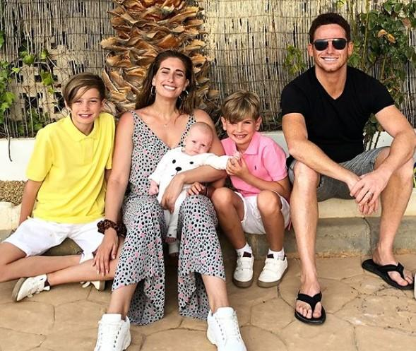 Stacey Solomon took to Instagram to defend 'alternative family set-ups' after being trolled by negative comments on social media (Instagram)