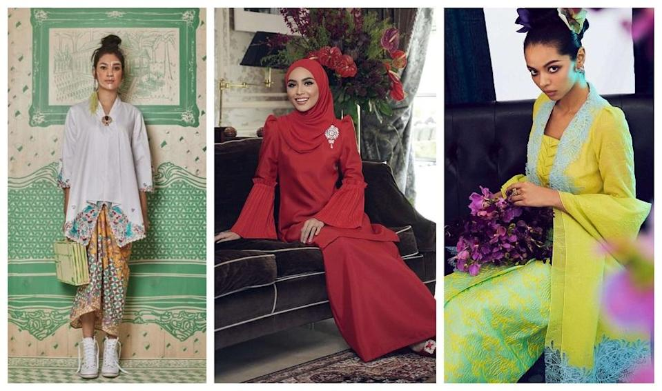 Still don't know what to wear this Raya? Our very own fashion designers have got your covered for the upcoming festivities. ― Pictures from Melinda Looi, Rizman Ruzaini and Khoon Hooi