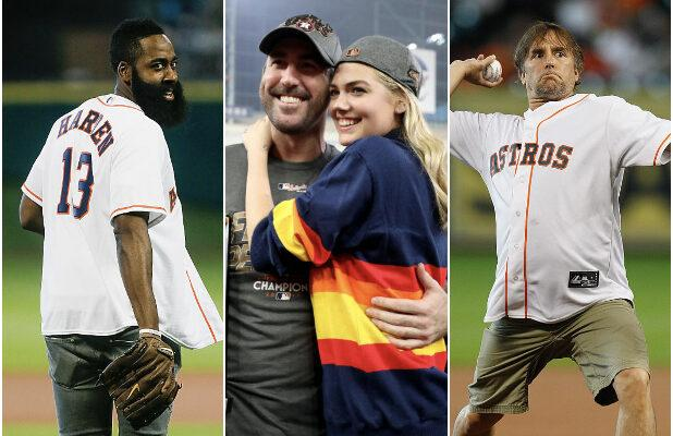 World Series 2019: Stars Rooting for the Houston Astros, From Kate Upton to Matthew McConaughey (Photos)