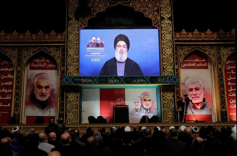 US army to 'pay price' for killing Soleimani: Hezbollah chief