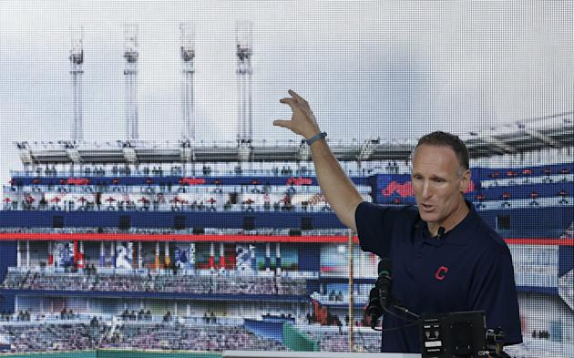 Cleveland Indians president Mark Shapiro talks about renovations coming to Progressive Field. (AP)