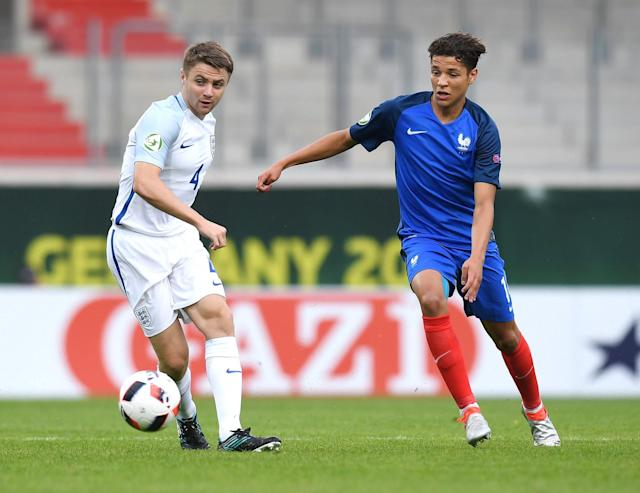 <p>The 19-year-old Nantes midfielder rejected his native Morocco to concentrate on playing for France. The midfielder played a starring role in last summer's U19 World Cup win. </p>