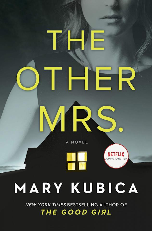 """<p>Fresh from her move from Chicago to small-town Maine, <a href=""""https://www.scribd.com/audiobook/422976152/The-Other-Mrs-A-Novel"""">Sadie's life turns upside down</a> when her neighbor is found dead in her new home. The more she tries to uncover what happened the night of the murder, the more she realizes how dangerous it will be if the truth comes to light.</p>"""