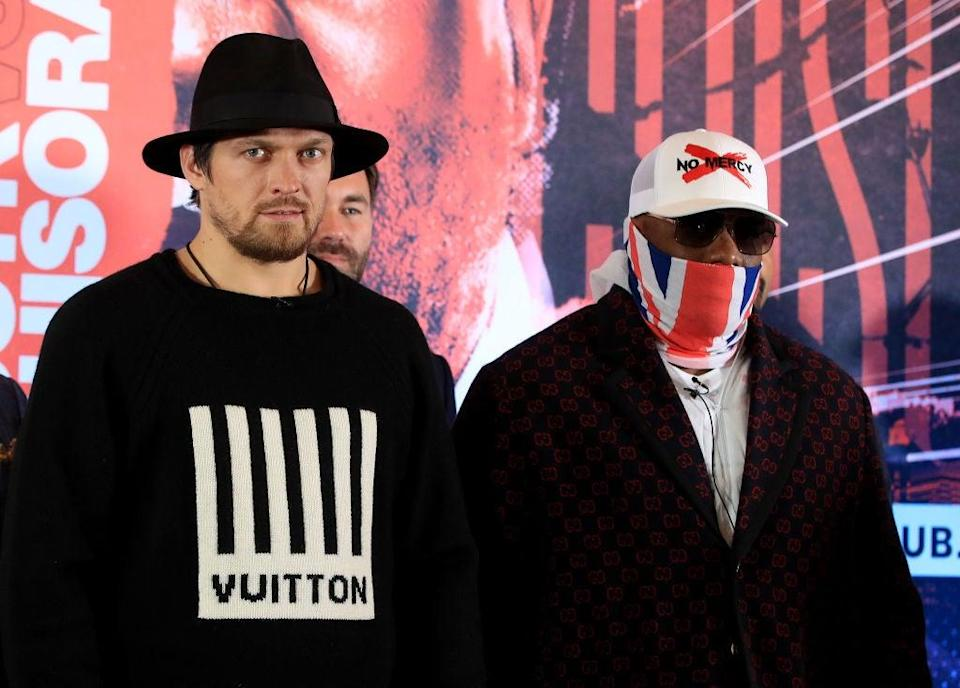 Usyk puts his WBO mandatory challenger status on the line vs Chisora (Getty)
