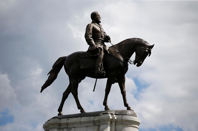 The statue of Confederate General Robert E. Lee in Richmond, Virginia, U.S., September 16, 2017.