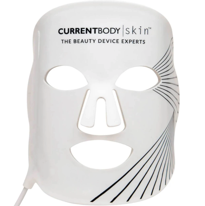 Skin LED Light Therapy Mask. Image via CurrentBody.