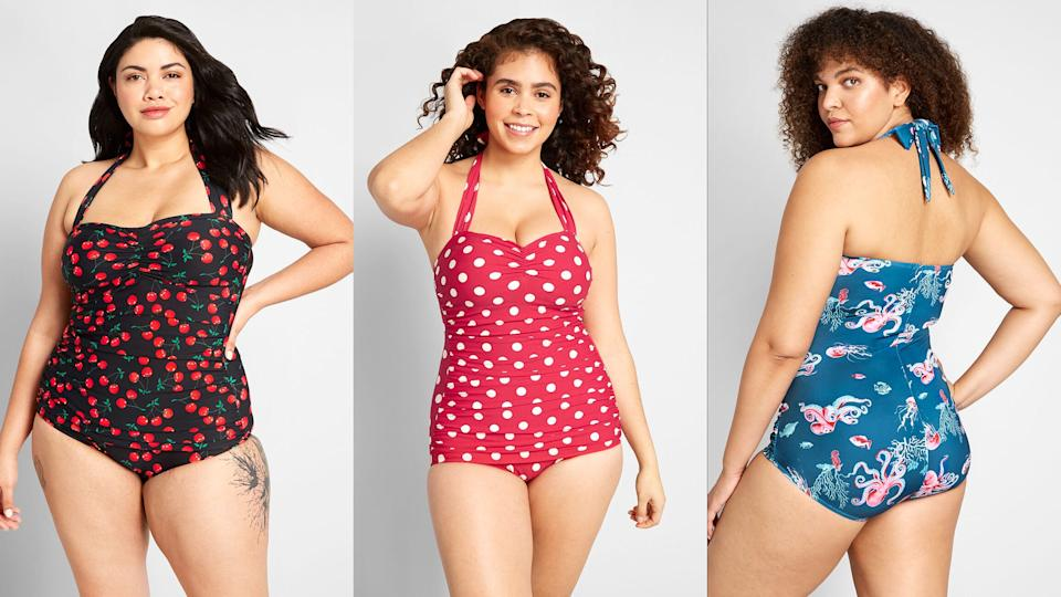 Vintage-inspired swimsuits from ModCloth are the perfect way to show off your personal style, even at the beach.