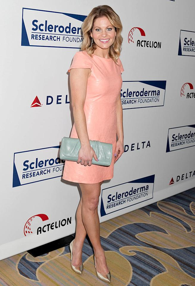 BEVERLY HILLS, CA - APRIL 30:  Candace Cameron Bure attends the Cool Comedy, Hot Cuisine event to benefit the Scleroderma Research Foundation at Four Seasons Hotel Los Angeles at Beverly Hills on April 30, 2013 in Beverly Hills, California.  (Photo by Tibrina Hobson/FilmMagic)