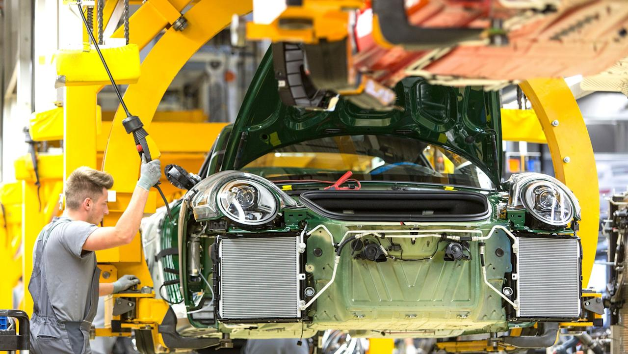 <p>Professor Ferdinand Alexander Porsche, the son of Ferry Porsche and older brother of Wolfgang, was the creative brain behind the 911. Production methods have come a long way since the 1960s. </p>