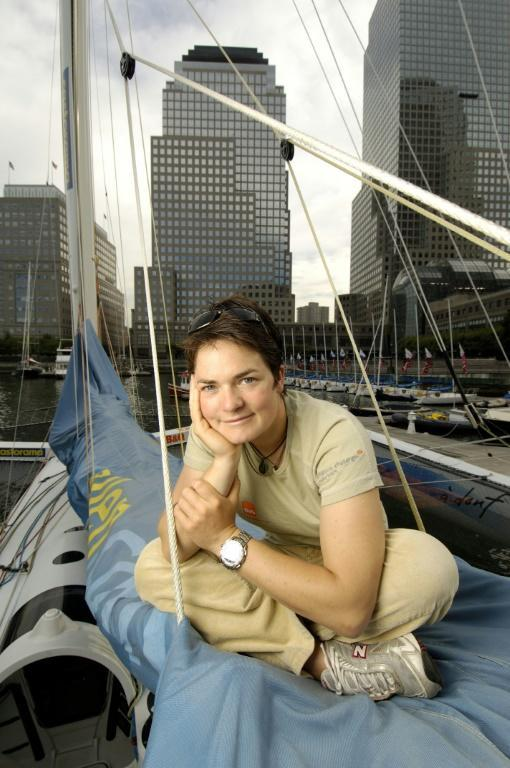 High seas success: British sailor Ellen MacArthur